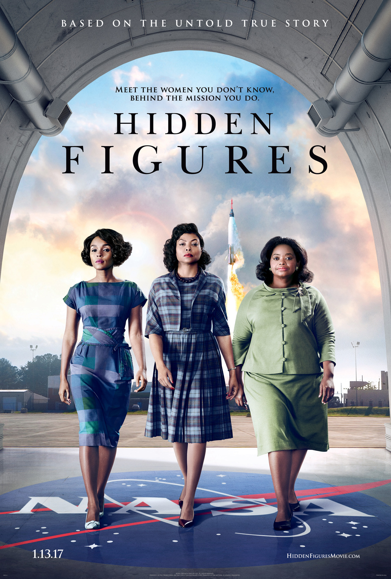 Hidden Figures Trailer Spotlights The Untold Heroics Of NASA's Colored Computers