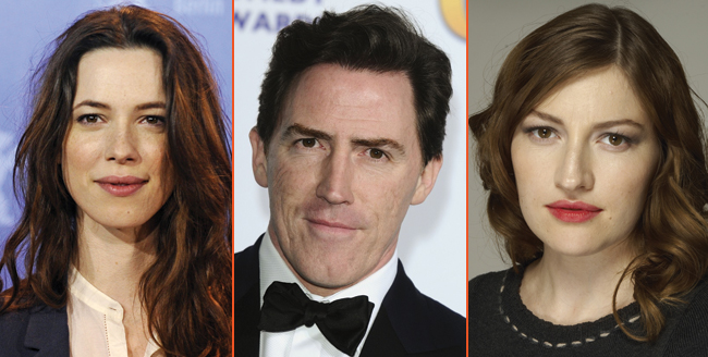 Rebecca Hall, Kelly Macdonald And Rob Brydon In For Holmes & Watson
