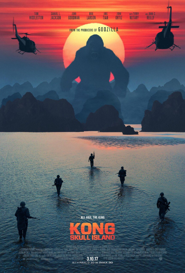 Intense International Trailer For Kong: Skull Island Teases Gods And Monsters