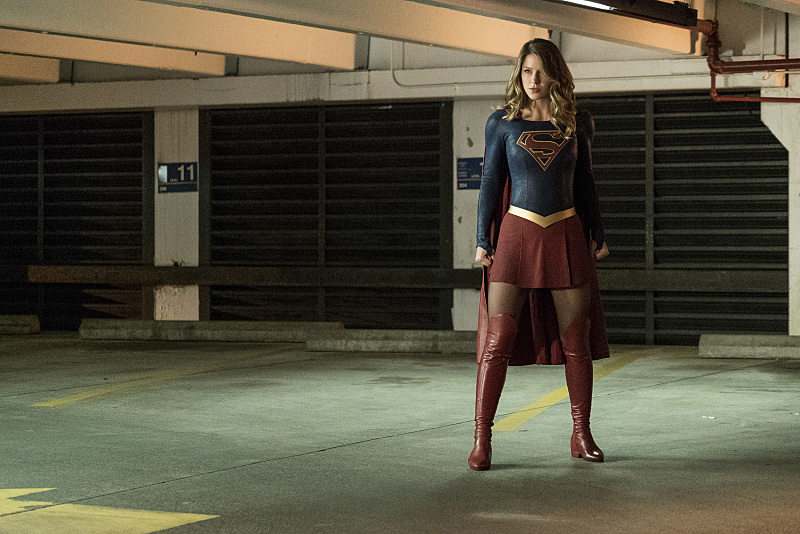 New Look At James Olsen As The Guardian In Images From Next Week's Supergirl