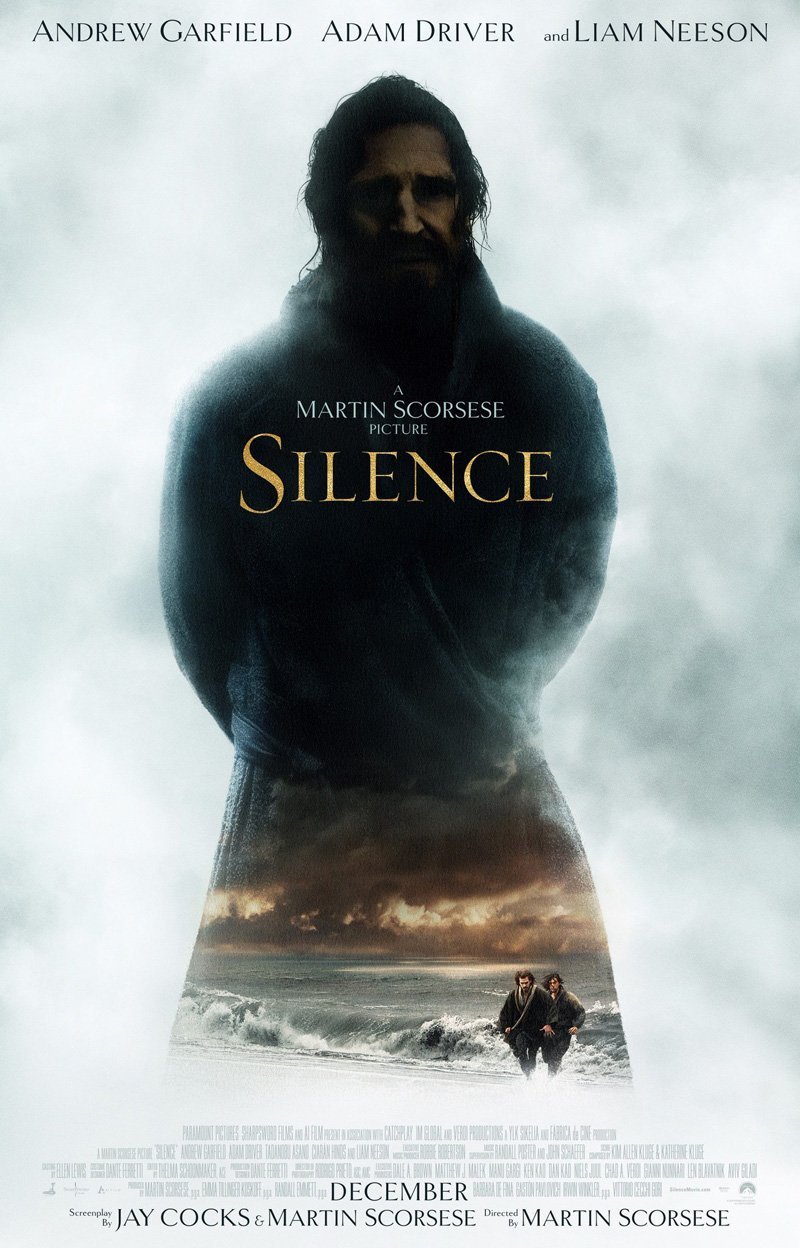 Silence Unveils Mysterious First Poster, New Stills Showcase A Haggard Andrew Garfield