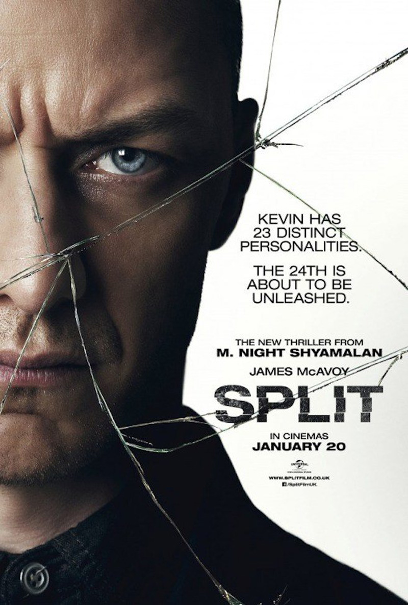 New Poster For M. Night Shyamalan's Split Warns That We Need To Talk About Kevin