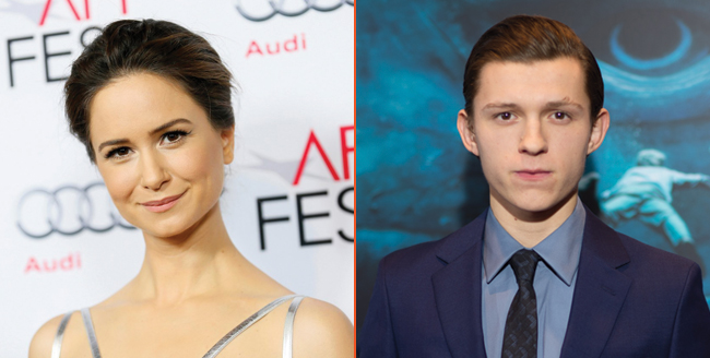 Katherine Waterston Climbs Aboard The Current War, Tom Holland Circling
