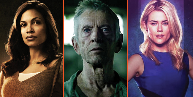 Rosario Dawson, Scott Glenn And Rachael Taylor All In For The Defenders