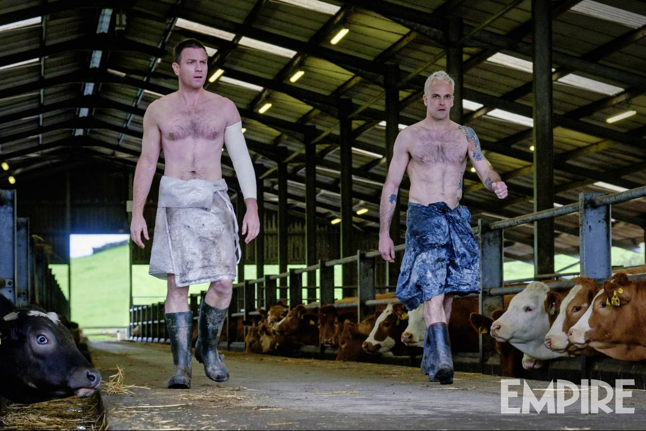 Choose Shirtless Farming In All-New Pic For Danny Boyle's Trainspotting 2