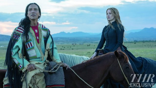 First Look At Jessica Chastain In Native American Drama Woman Walks Ahead