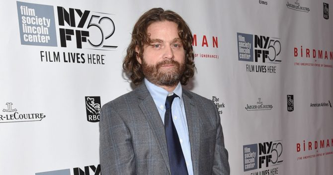 Zach Galifianakis Rounds Out Starry Cast For A Wrinkle In Time As Filming Gets Underway