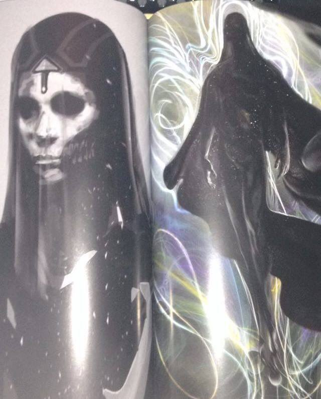 Possible Avengers: Infinity War Concept Art Features Mistress Death