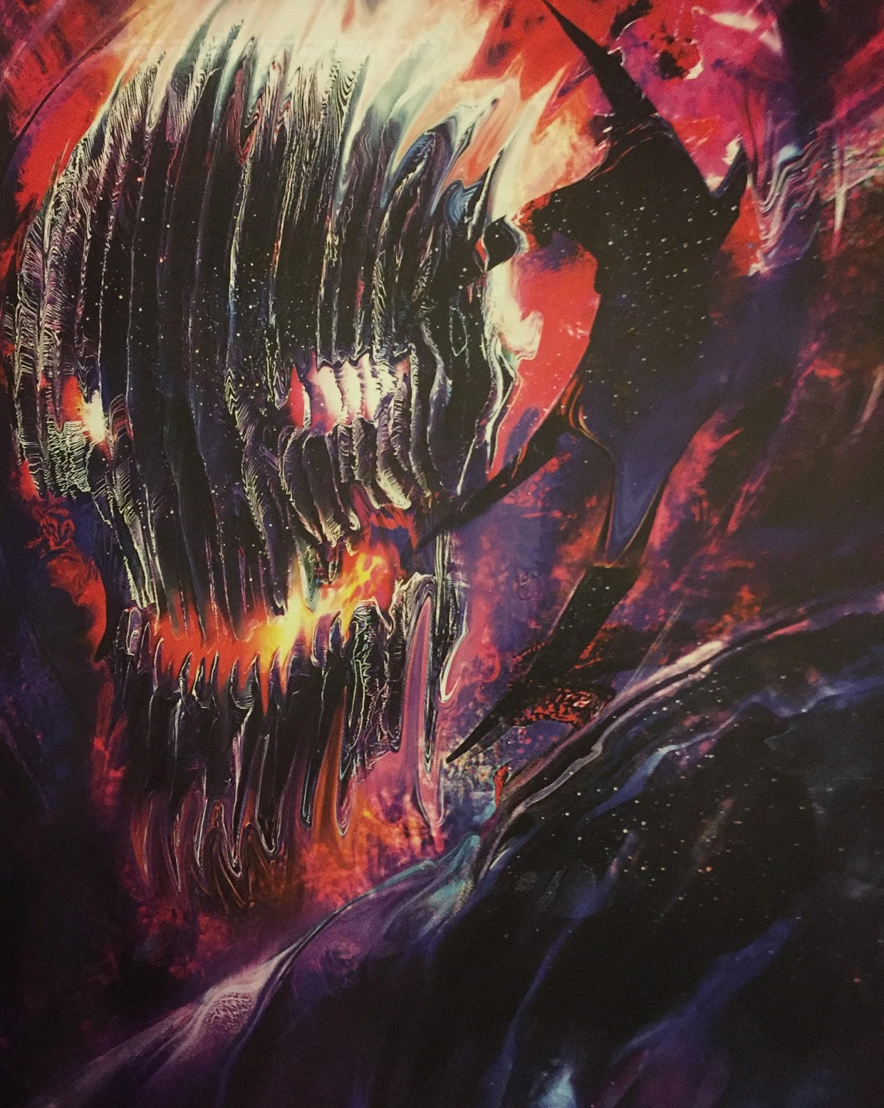 Doctor Strange Concept Art Spotlights Alternate Dormammu Designs