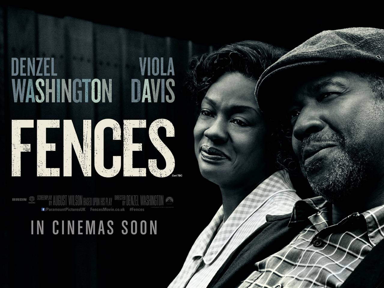 Oscar-Tipped Drama Fences Debuts Stark New Poster