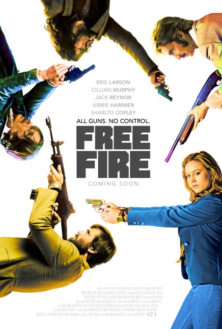 It's All Guns And No Control On This New Free Fire Poster