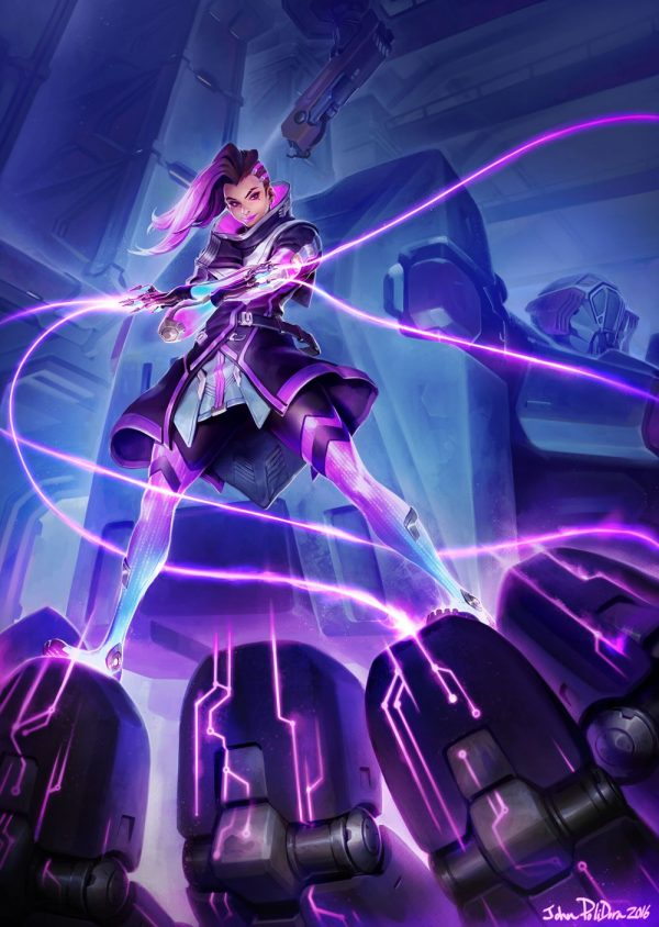 New Images For Overwatch's Sombra Emerge Ahead Of This Year's BlizzCon