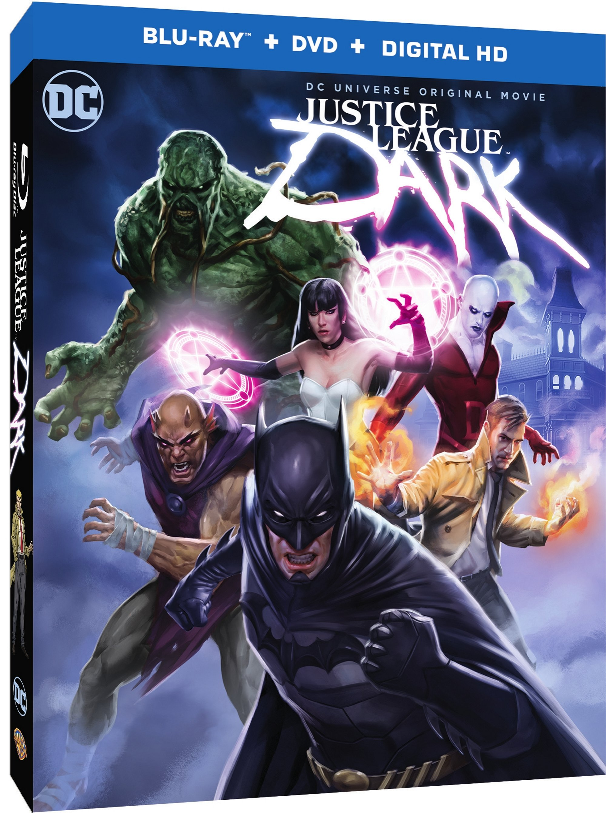 Justice League Dark Release Date, Cover Art And Featurettes Revealed