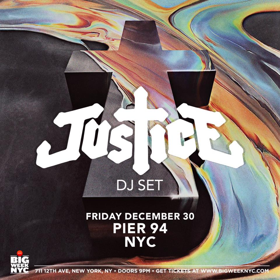 Justice Will Drop A DJ Set In NYC For New Year's
