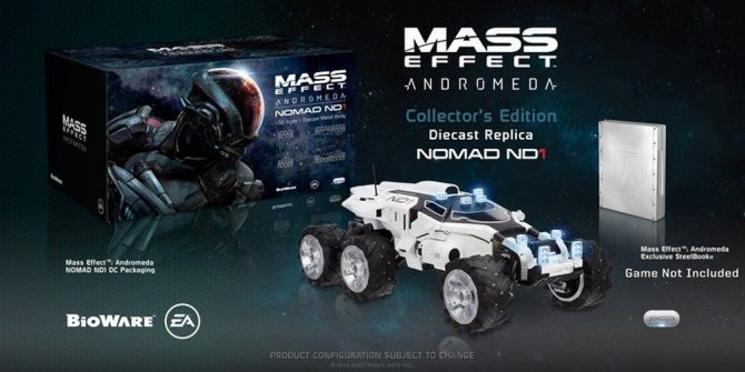 Mass Effect: Andromeda's Collector's Edition Includes A Remote-Controlled Nomad Vehicle