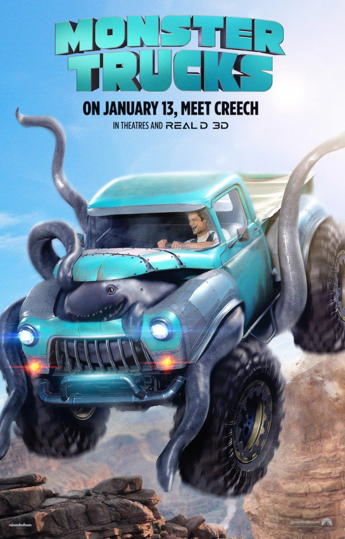 Bonkers Monster Trucks Trailer Is Here To Remind You The Movie Is Still A Thing