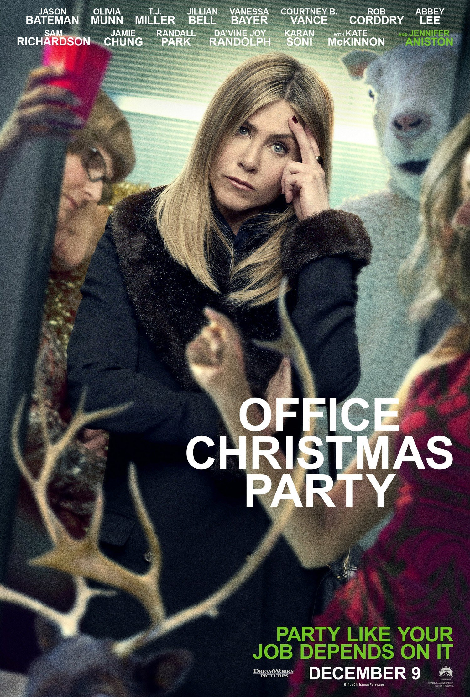 Office Christmas Party Trailer Stages A Festive Bash To Remember