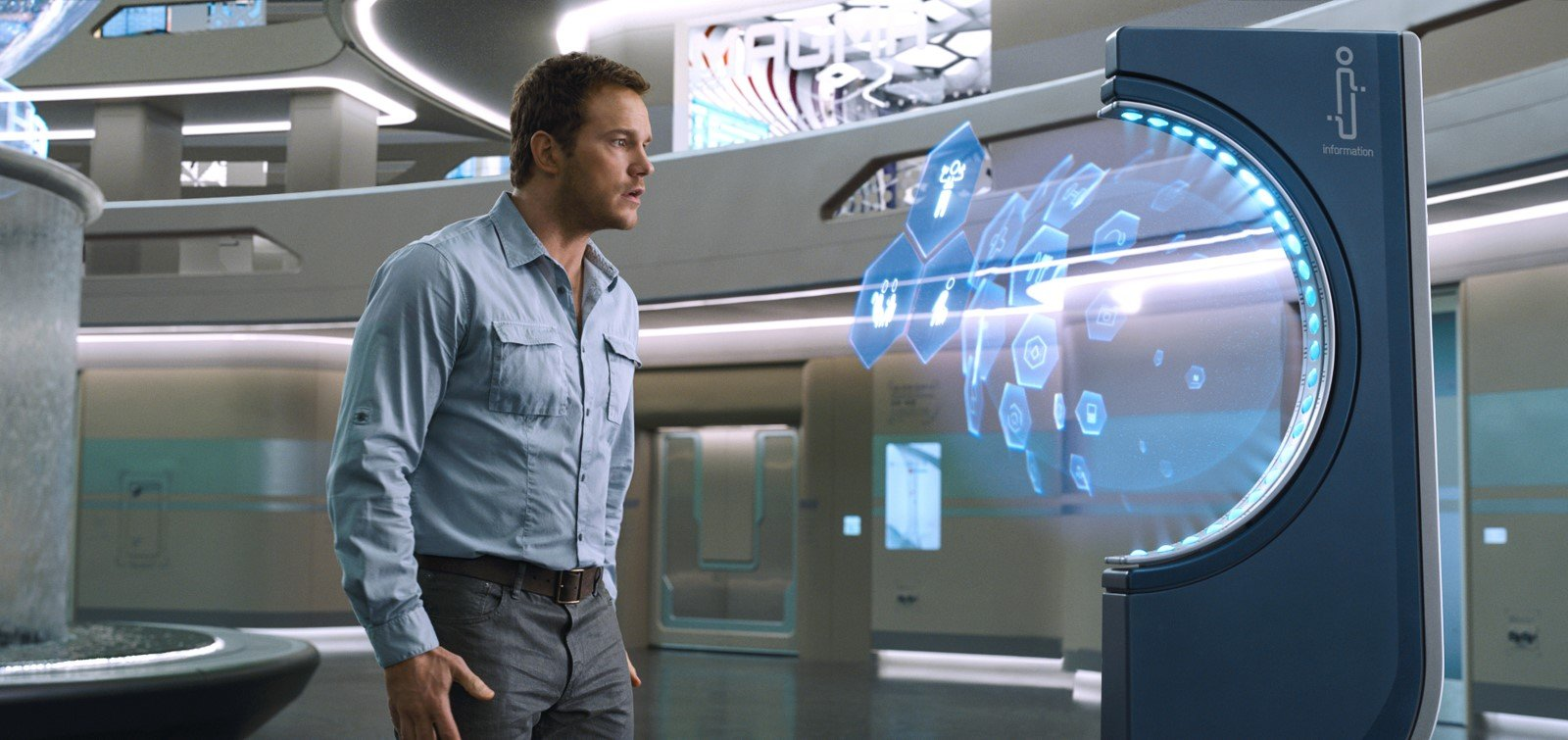 Chris Pratt And Jennifer Lawrence Shoot For The Stars In All-New Passengers Trailer