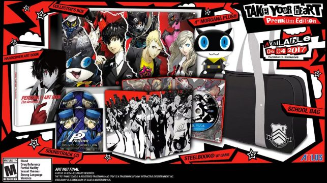 Persona 5 Officially Delayed To April For North America And Europe