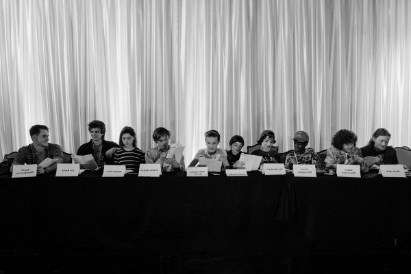Stranger Things Season 2 Pic Assembles Faces Old And New For Table Read
