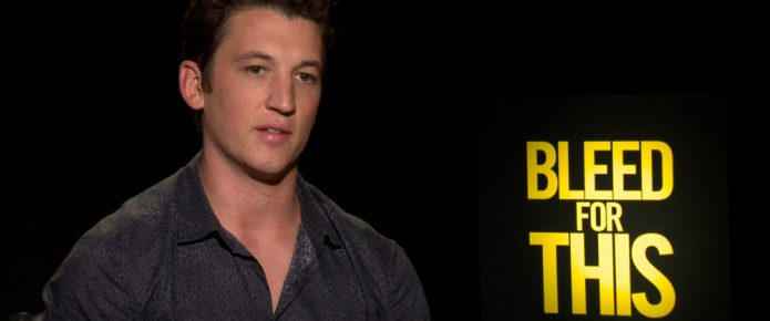 Exclusive Video Interview: Miles Teller Talks Bleed For This