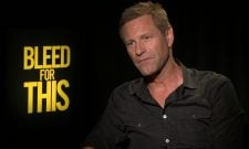 Exclusive Video Interview: Aaron Eckhart Talks Bleed For This