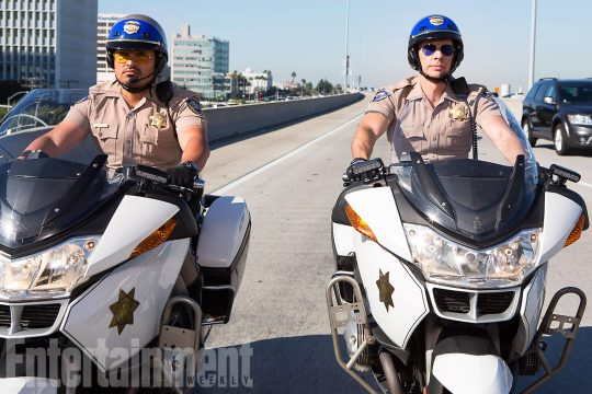 Dax Shepard And Michael Pena Ride On in First Look At CHiPs