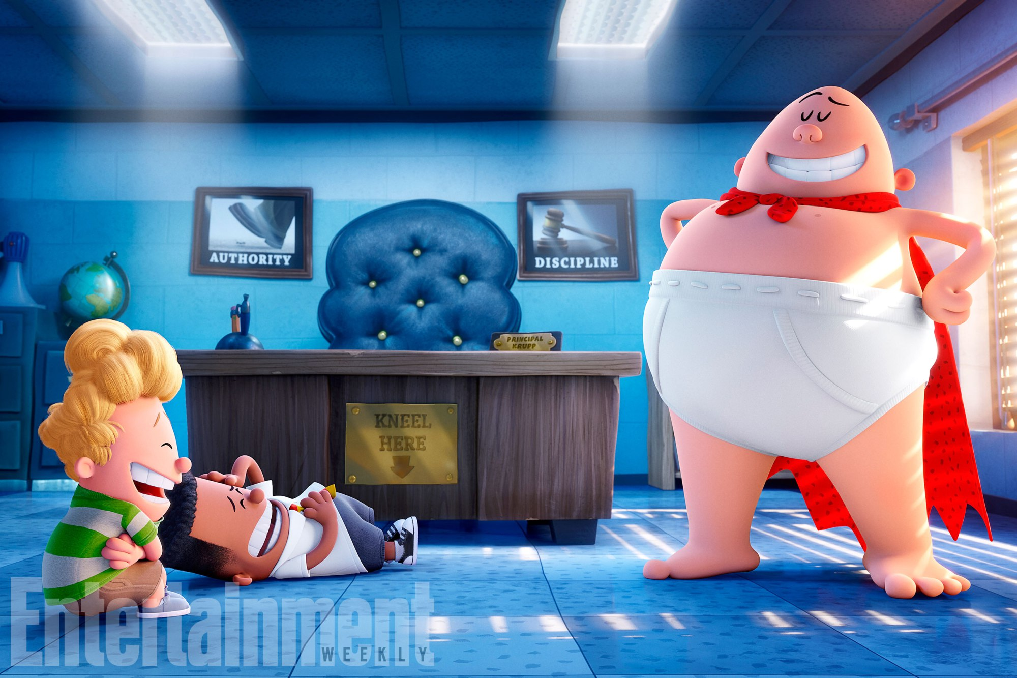 first look at dreamworks animation s captain underpants film