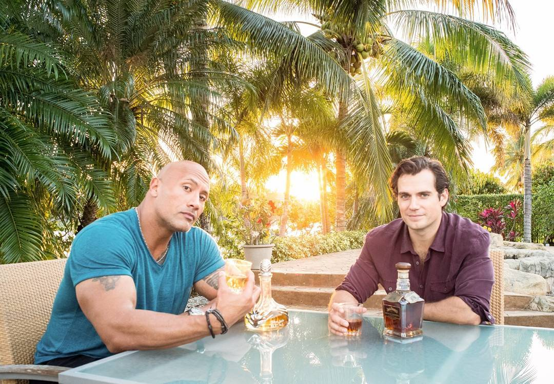 Henry Cavill And Dwayne Johnson Met Up To Discuss Superman And Black Adam