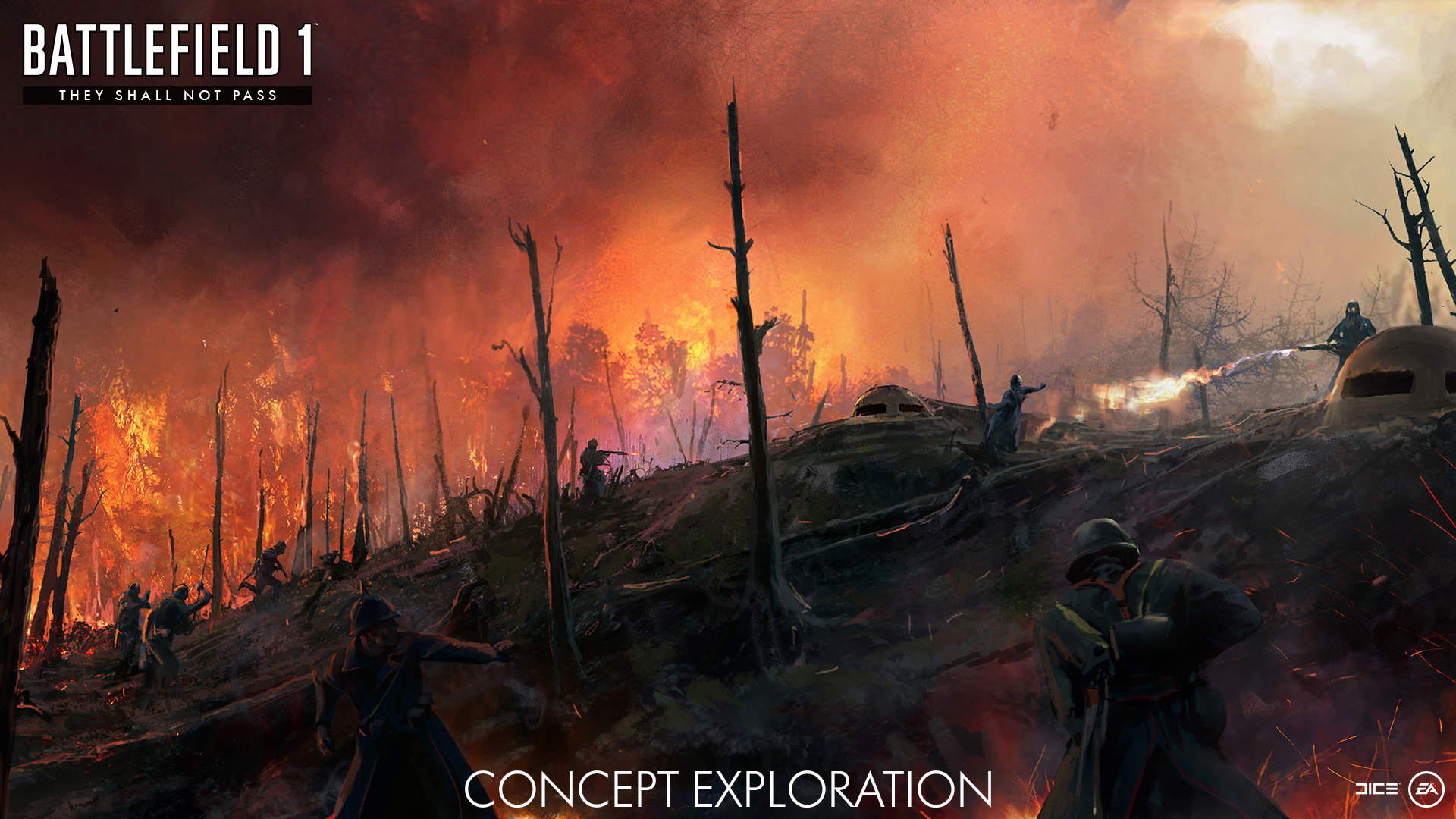 Get Your First Look At Battlefield 1's March Expansion They Shall Not Pass