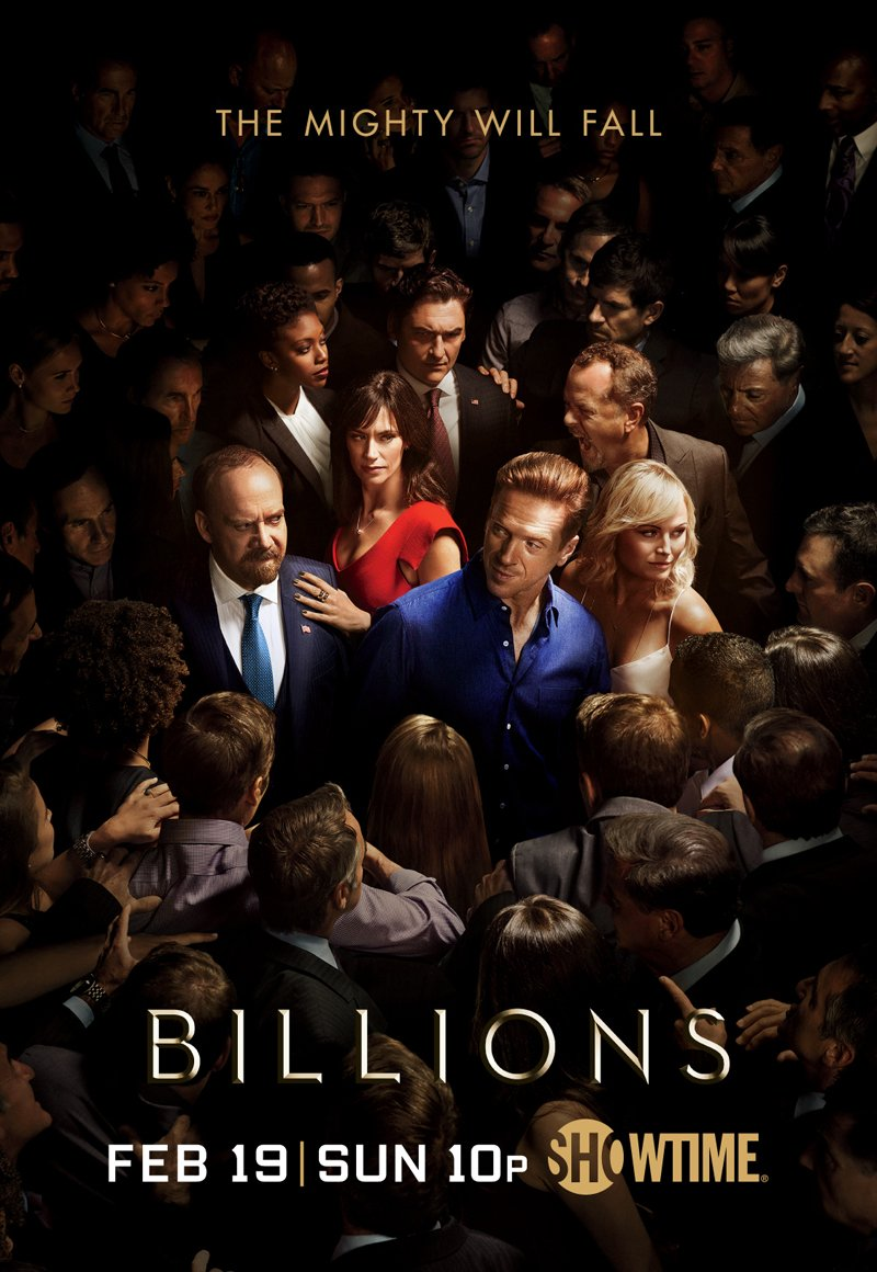 The War Between Axe And Chuck Continues In First Billions Season 2 Trailer And Poster