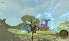 The Legend Of Zelda: Breath Of The Wild Gameplay Features Combat And A Beautiful Hyrule