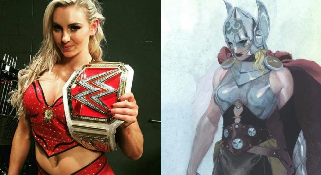 WWE Superstar Charlotte Puts Her Name Forward To Play The Female Thor