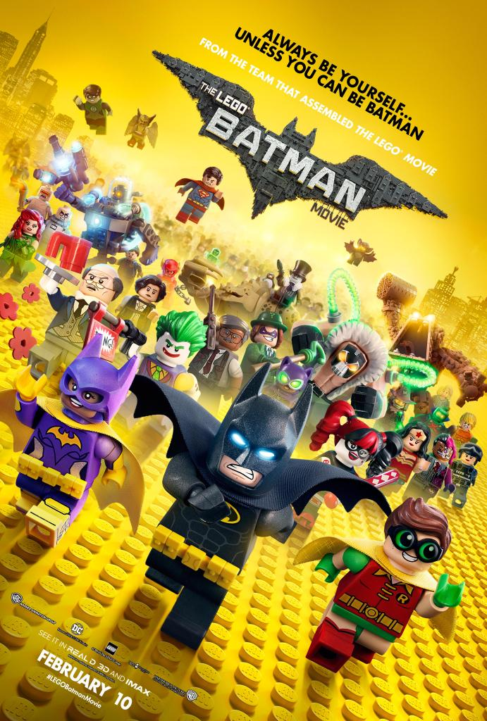 Awesome New Poster For The LEGO Batman Movie Features Many Familiar Faces