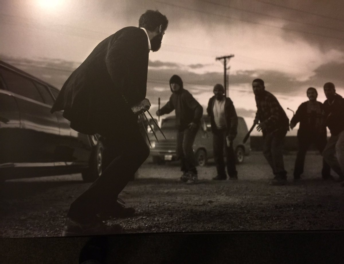 The Claws Come Out In Another New Image From Logan