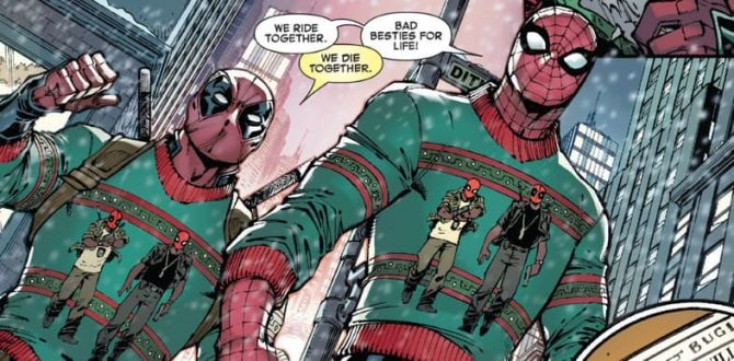 Marvel Kicks DC While They're Down In Spider-Man/Deadpool #12