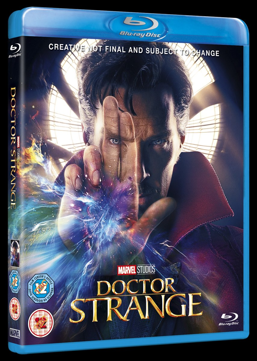 UK Blu-Ray Cover Art And Release Date For Marvel's Doctor Strange Revealed