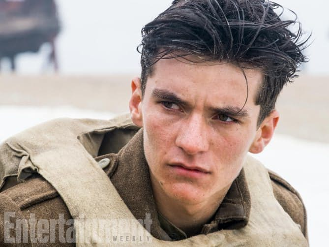 Fionn Whitehead Gets His Closeup In Latest Image From Christopher Nolan's Dunkirk