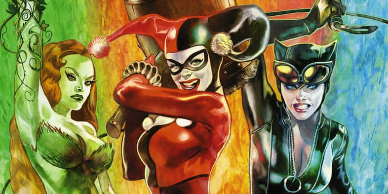 Gotham City Sirens Fan Art Features Eliza Dushku And Emma Stone