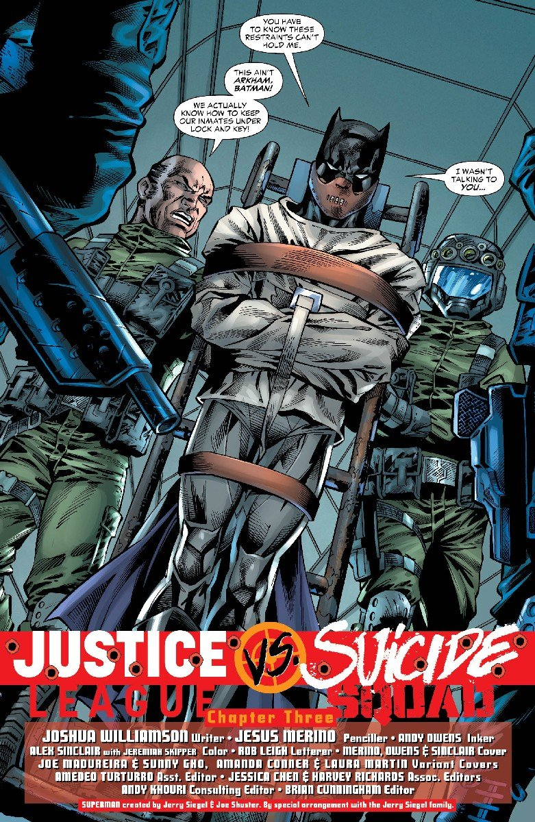 Justice League Vs. Suicide Squad #3 Review
