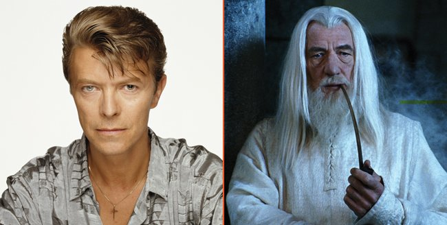 Lord Of The Rings: David Bowie Originally Considered For Role Of Gandalf