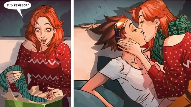 New Overwatch Webcomic Reflections Introduces Tracer's Girlfriend Emily