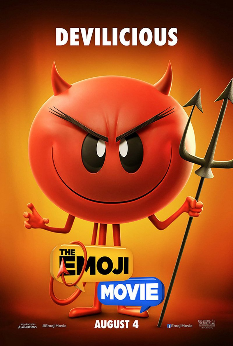 The Emoji Movie Rolls Out First Character Posters