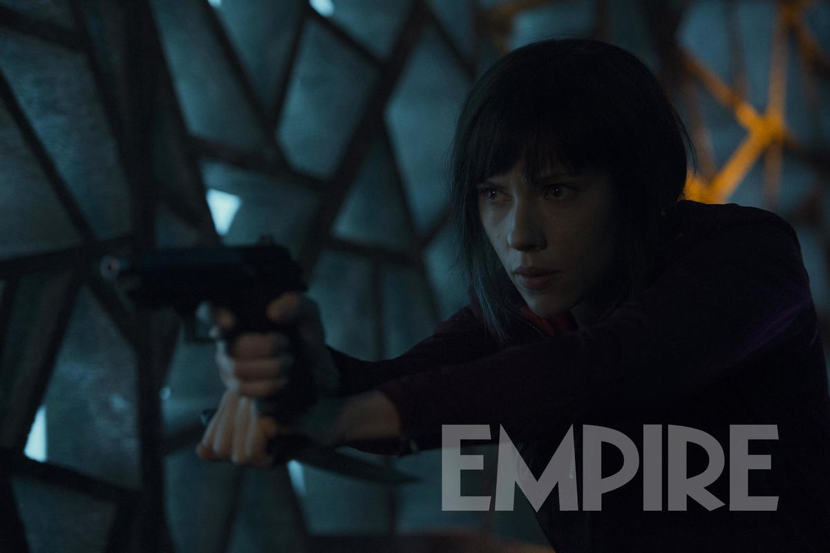 Scarlett Johansson Means Business In New Still From Ghost In The Shell