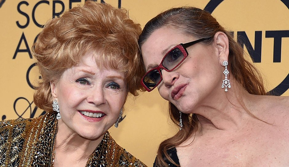 Carrie Fisher's Mother And Hollywood Legend Debbie Reynolds Dead At Age 84