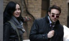 The Man Without Fear Crosses Paths With Jessica Jones In Latest Set Photos For The Defenders