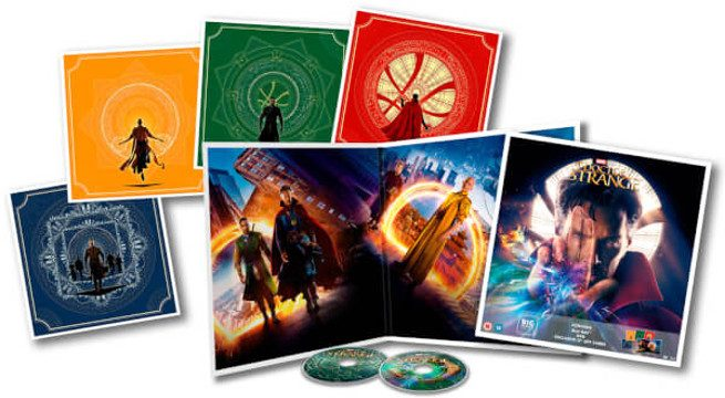 Awesome Artwork Revealed For A Limited Edition Version Of The Doctor Strange Blu-Ray