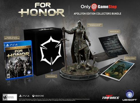 Gamestop Exclusive Collector's Edition Of For Honor Will Set You Back $220