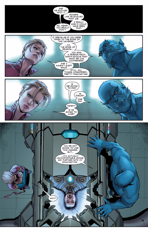 Iron Man's Fate Was Finally Revealed In Today's Unsatisfying Civil War II #8