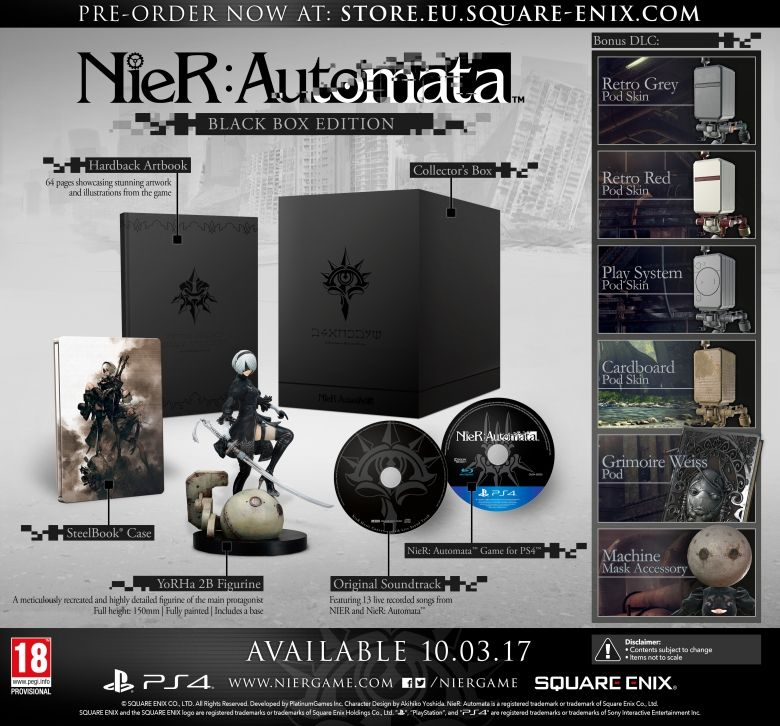 NieR: Automata Demo Heads To PlayStation 4 On December 22